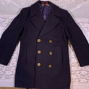 ⚡️GLOVERALL England Vintage Wool Peacoat